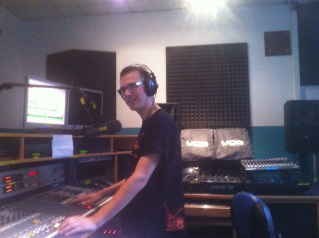 Gregor im Studio von Alex-Berlin