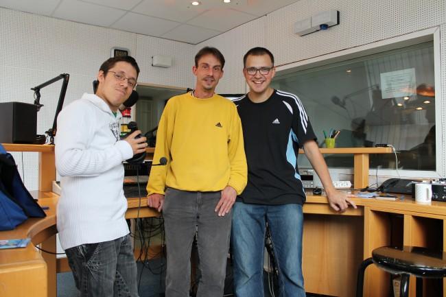 Matthias, Sven und Gregor