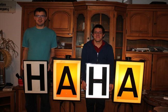 Gregor und Matthias