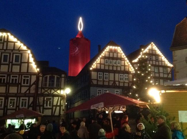 Weihnachtsmarkt in Schlitz